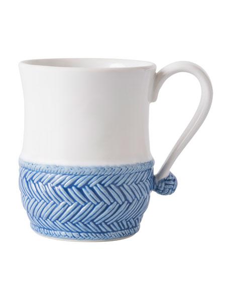 Le Panier White/Delft Blue Mug