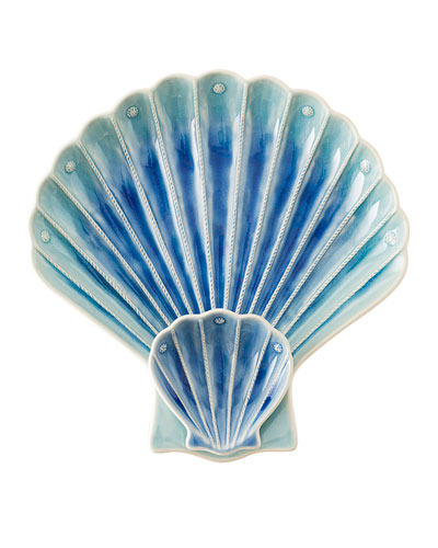 Berry & Thread Sea Life Tiered Shell Platter