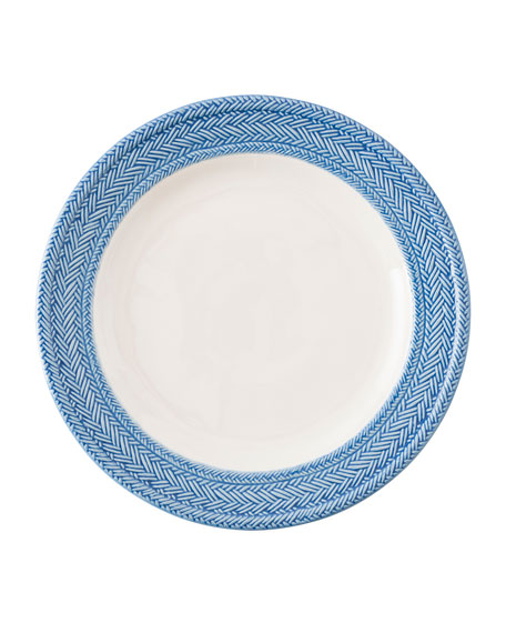 Le Panier White/Delft Blue Dinner Plate