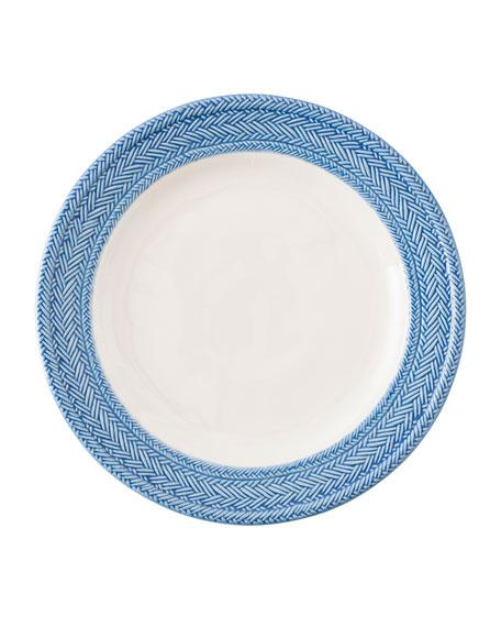 Juliska Le Panier White/Delft Blue Dinner Plate
