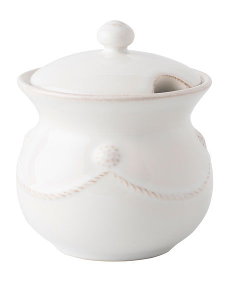 Juliska Berry & Thread Whitewash Sugar Pot