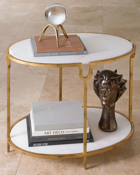 Global Views Olivia Side Table Neiman Marcus