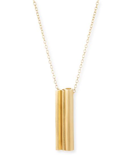XO Hidden-Message Necklace
