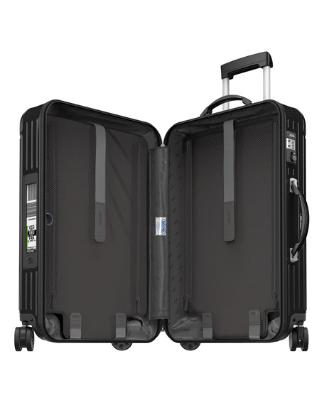 "Salsa Deluxe Electronic Tag Black 26"" Multiwheel Luggage"