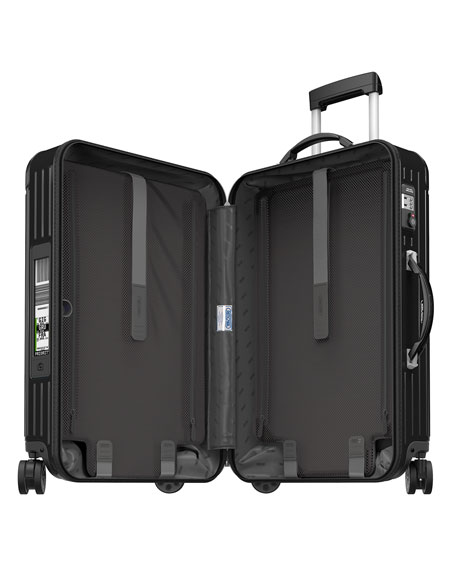 """Salsa Deluxe Electronic Tag Black 32"""" Multiwheel Luggage"""