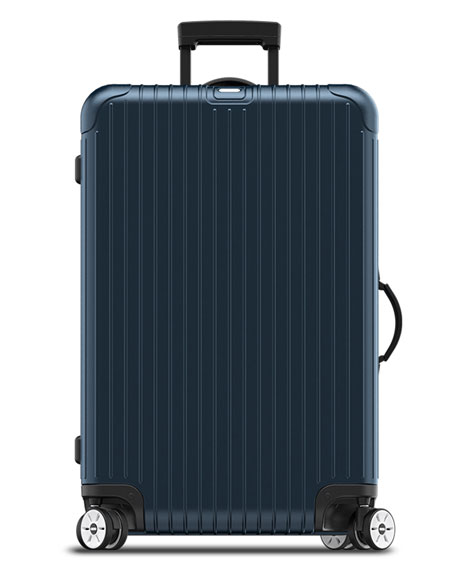 rimowa north america salsa electronic tag matte blue 29 multiwheel luggage neiman marcus. Black Bedroom Furniture Sets. Home Design Ideas