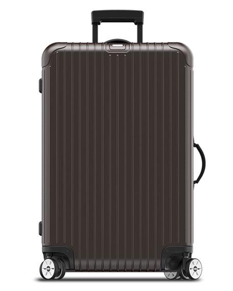 rimowa north america salsa electronic tag matte bronze 26 multiwheel luggage neiman marcus. Black Bedroom Furniture Sets. Home Design Ideas
