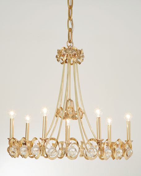 Julia Buckingham for Global Views Jewel Tangle Chandelier