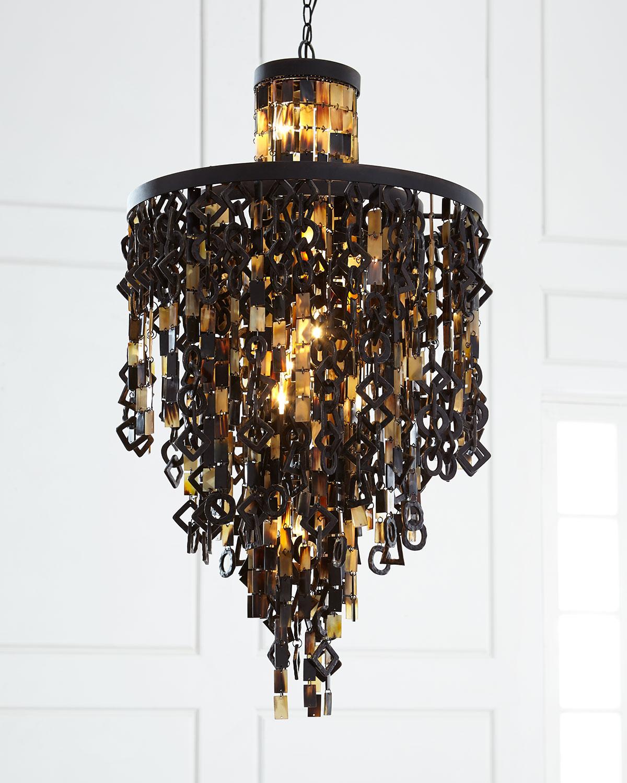 Chandelier pendant lighting at neiman marcus regina andrew design zara horn chandelier arubaitofo Images