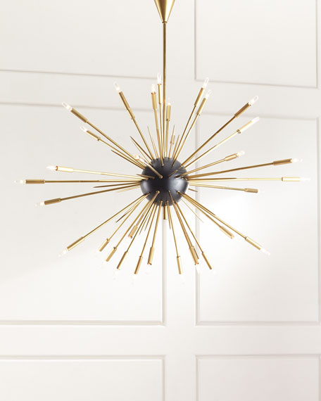 Nebula 34-Light Chandelier