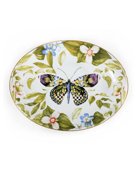Thistle & Bee Serving Platter