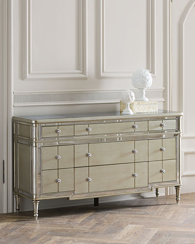 Hughe Mirrored Chest