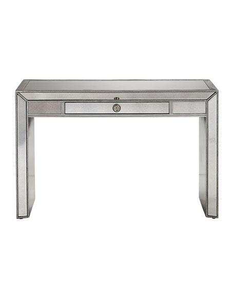 Keane Mirrored Writing Desk