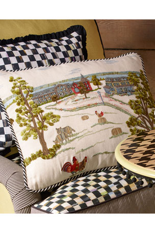 MacKenzie-Childs MacKenzie-Childs Farm Pillow