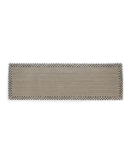 MacKenzie-Childs Braided Wool/Sisal Runner, 2'6 x 9'