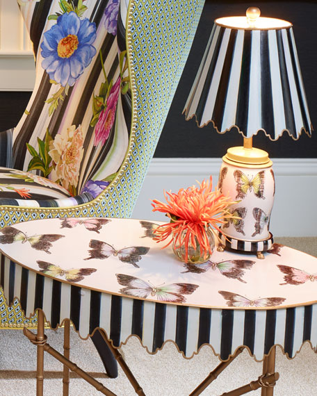 Butterfly Collection Side Table