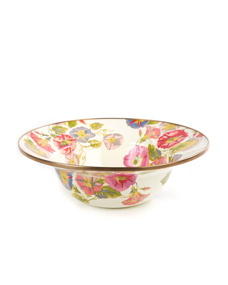 Morning Glory Serving Bowl