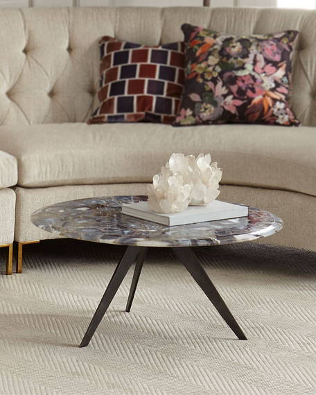 Good Charlotte Agate Coffee Table