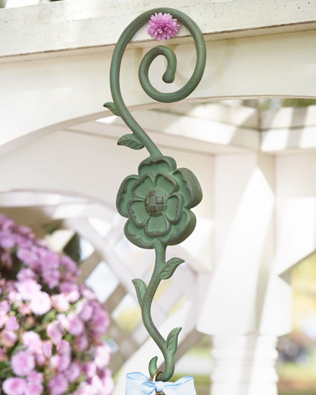 MacKenzie-Childs Flower Garden Birdhouse Hook