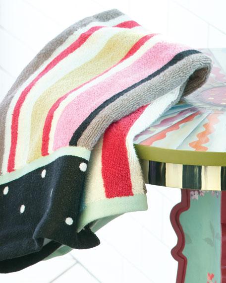 MacKenzie-Childs Chelsea Stripe Hand Towel