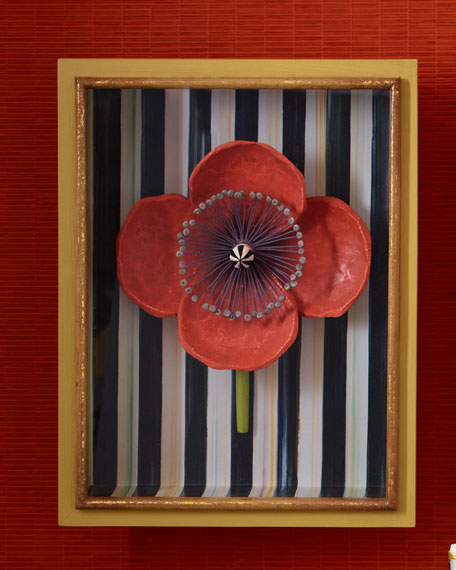 MacKenzie-Childs Poppy Shadow Box