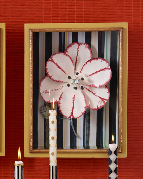 MacKenzie-Childs Red Tulip Shadow Box