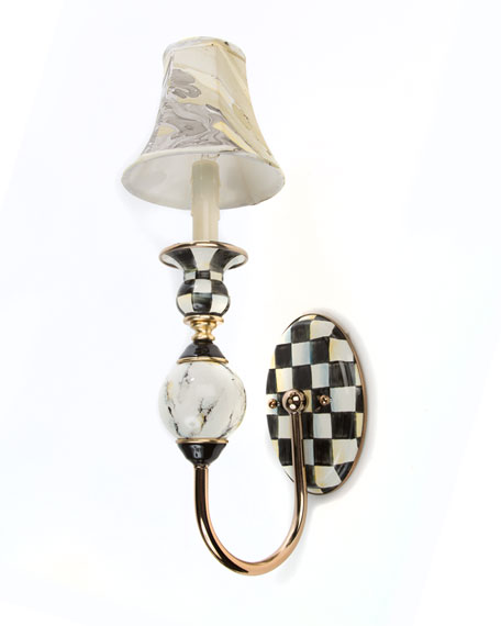 MacKenzie-Childs Courtly Palazzo Single Sconce
