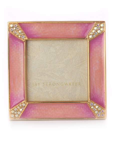Jay Strongwater Leland Square Frame, 2