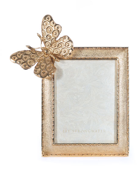 Jay Strongwater Juno Butterfly Picture Frame, 3\