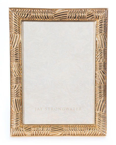 Jay Strongwater Striped Frame, 5