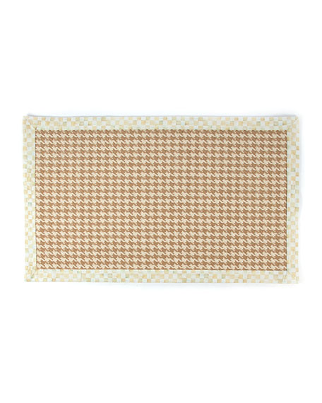 MacKenzie-Childs Houndstooth Wool/Sisal Rug, 3' x 5'
