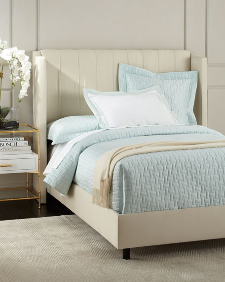 Somerton Calfornia King Wingback Bed