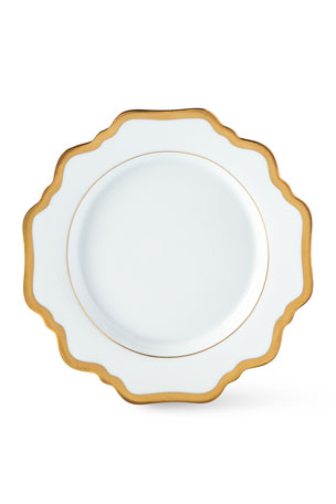 Anna Weatherly ANTIQUE WHITE WITH GOLD BREA
