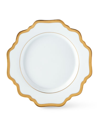 ANTIQUE WHITE WITH GOLD BREA