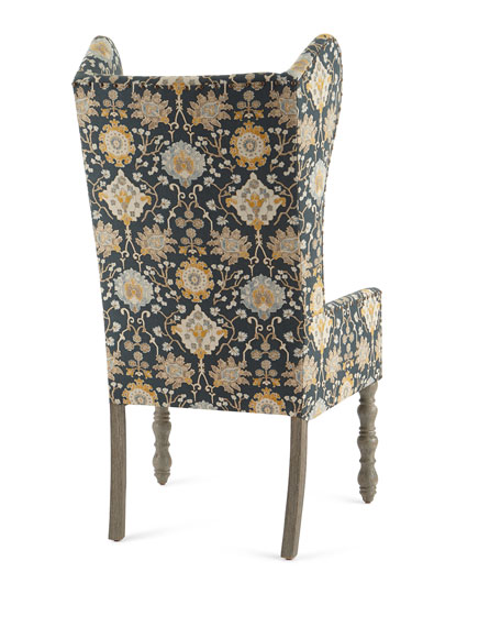 Cruz Leaf Wingback Chair