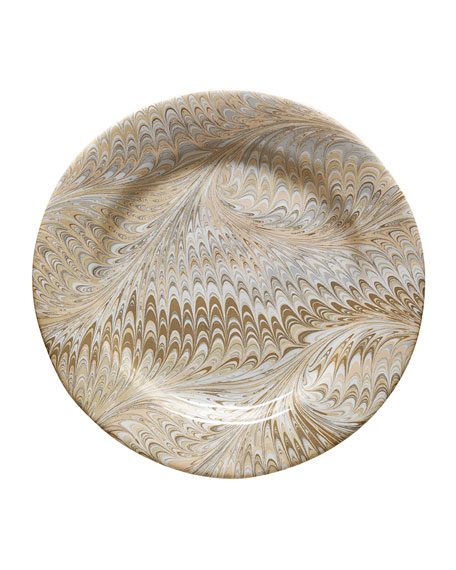 Juliska Cappuccino Firenze Salad Plate
