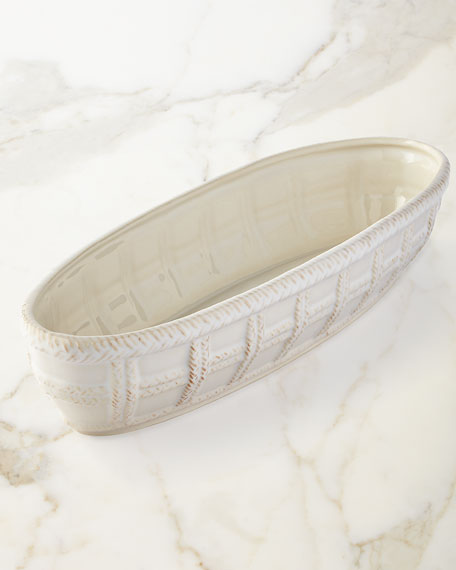 Le Panier Whitewash Bread Basket