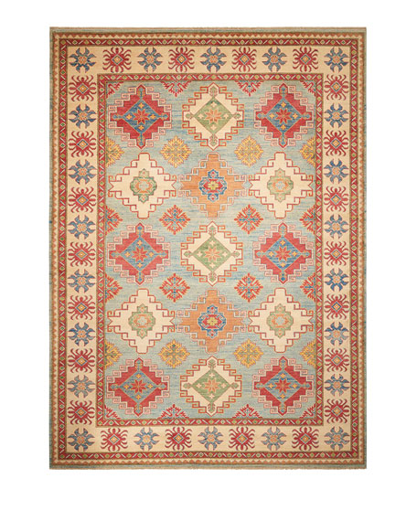 """Dwayne Hand-Knotted Rug, 8'11"""" x 12'3"""""""