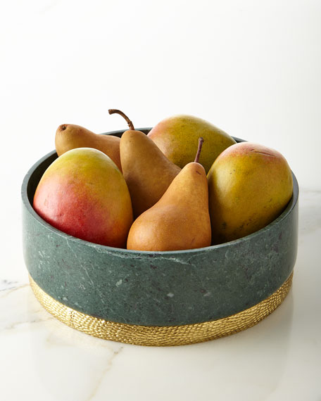 Michael Aram Rainforest Centerpiece Bowl
