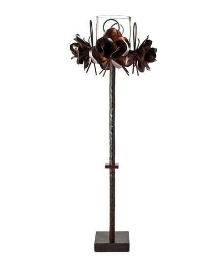 Jan Barboglio 4 Rosas Candlestick