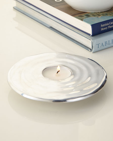 Ripple Effect Tea Light Holder