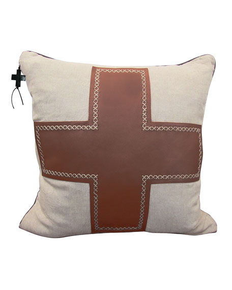 Jan Barboglio Saddle Cruz Pillow