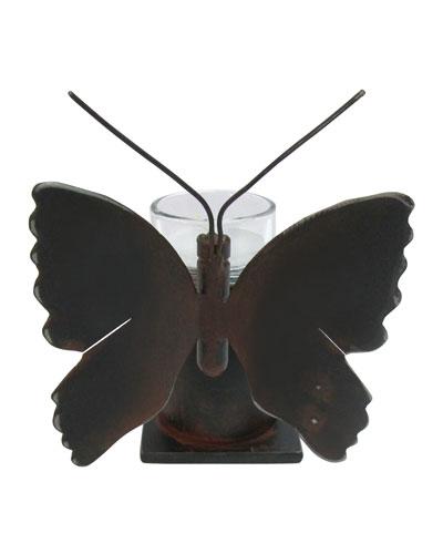 Mariposa Iron & Glass Votive