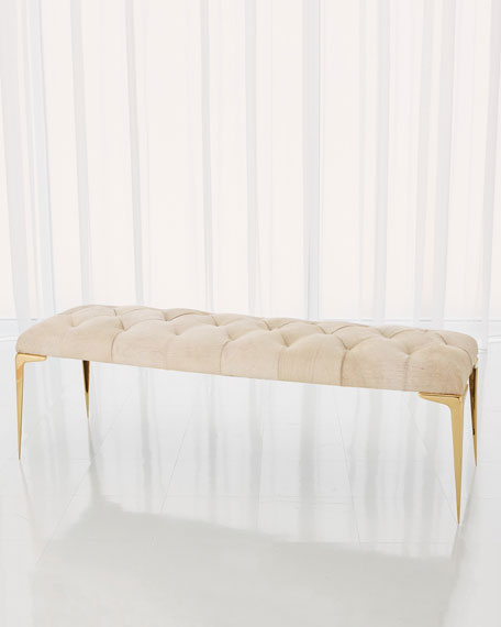 Paola Hairhide Bench