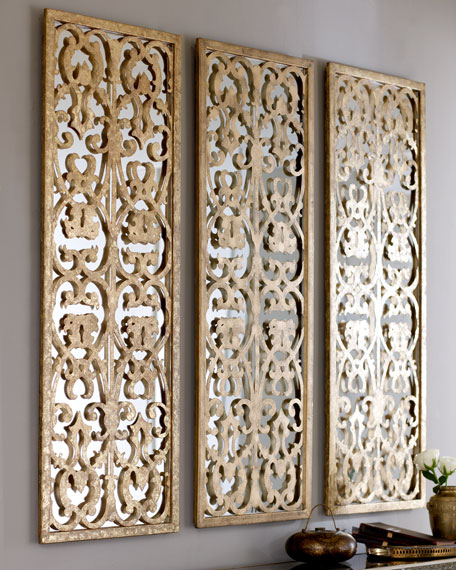 Cutout Mirror Wall Panel