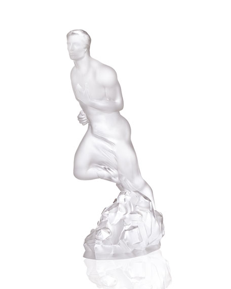 Lalique Athlete Sculpture