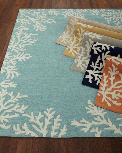 Coral Reef Indoor/Outdoor Mat, 3'6
