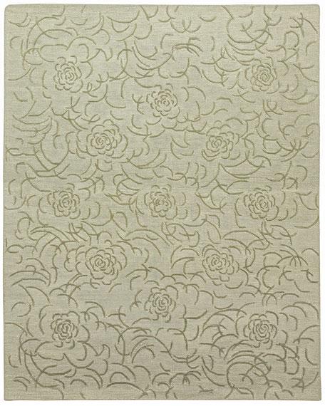 Viviana Floral Rug, 9' x 12'