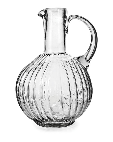 Jan Barboglio Jarron San Juana Clear Pitcher