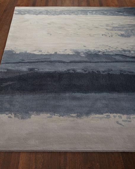 "Blue Luster Rug, 8'3"" x 11'"